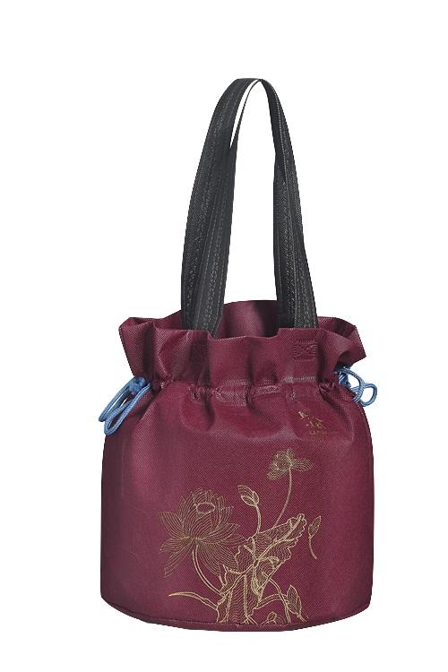 圓型不織布朿口手提袋 編號: CS-AB0001
