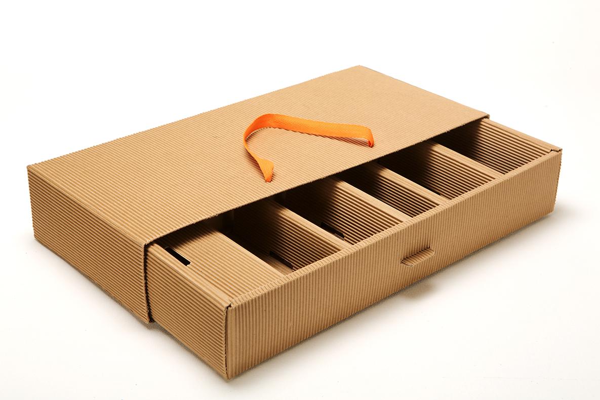精緻瓦楞禮盒 編號: CS-GA0001
